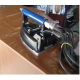 onde vende ferro de passar profissional para lavanderia Araraquara